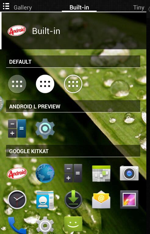 Nova Launcher Beta screenshots