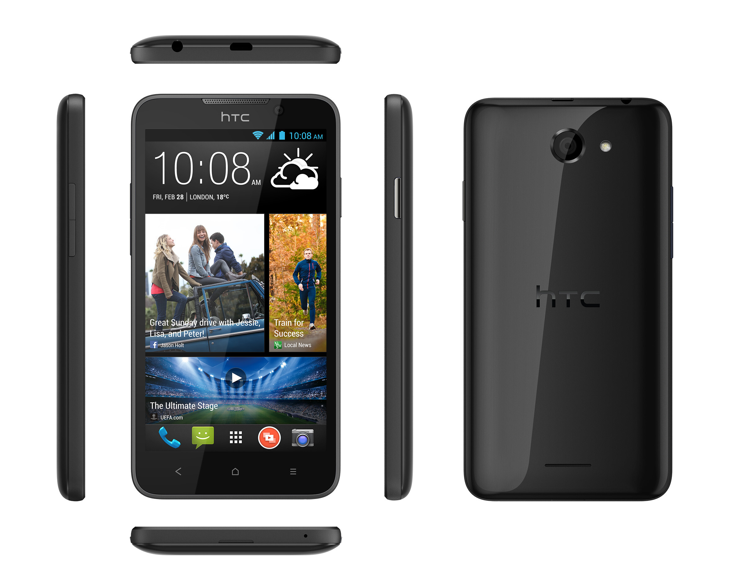 Affordable HTC Desire 516 announced for Europe, KitKat not ...