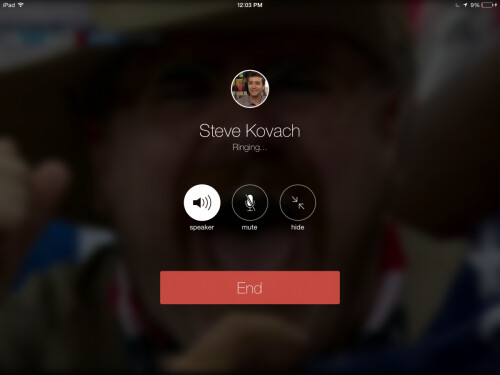 Facebook Messenger brings voice calling to the iPad