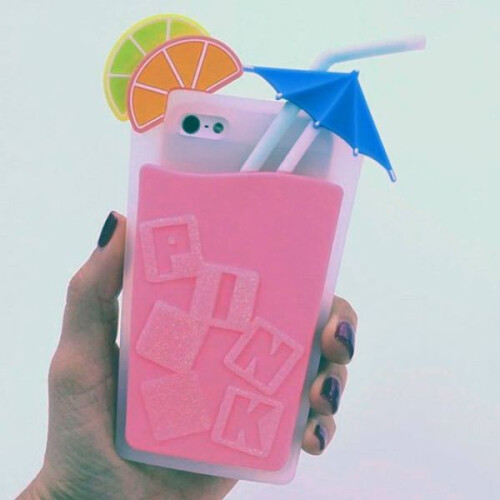 The Pink Drink iPhone case