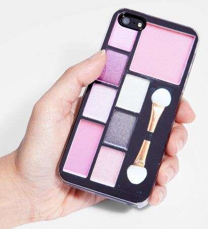 The Eyebrush and make-up kit iPhone case
