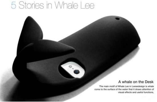 The Whale Lee iPhone case