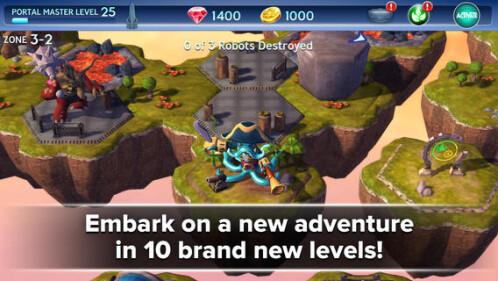 Skylander Battlegrounds - free, down from $6.99