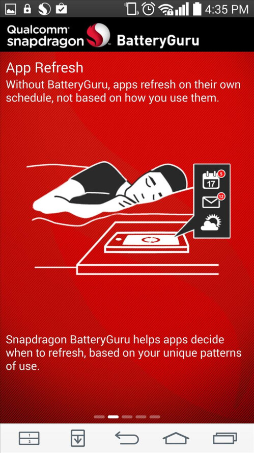 Snapdragon Battery Guru helps squeeze more juice from your Android