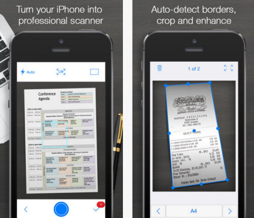 Turn your iPhone or iPad into a scanner