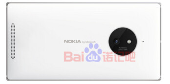 Nokia Lumia render shows Nokia by Microsoft branding