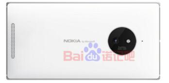 Nokia Lumia render shows Nokia by Microsoft branding