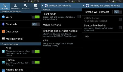 And this is the path to follow for older Galaxy S and Galaxy Tab models