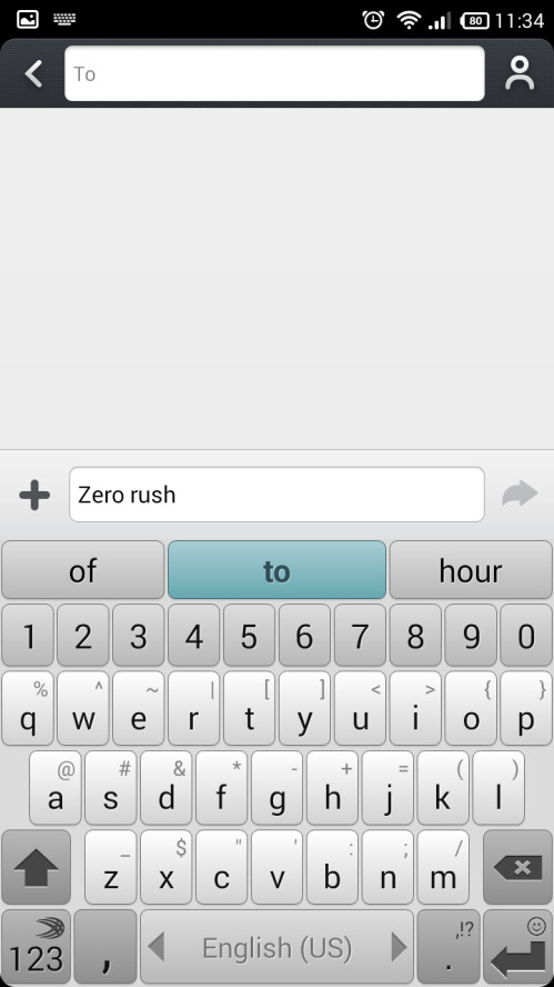 How to turn off SwiftKey keyboard's overzealous text prediction and corrections