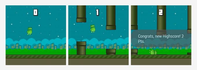 Flappy Bird clone now available off the Play Store for Android Wear smartwatches