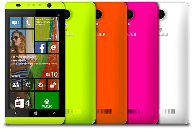 BLU to release two Windows Phone 8.1 phones, will be sold through Microsoft Store