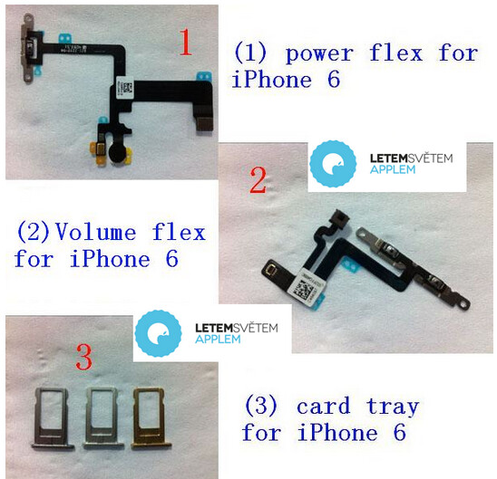 Parts, allegedly for the Apple iPhone 6, leak - Parts, allegedly for the next Apple iPhone, leak to reveal a new design for the device