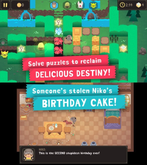 #9: Monsters Ate My Birthday Cake - iOS, Android - $4.99