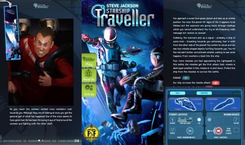 #21: Fighting Fantasy: Starship Traveller