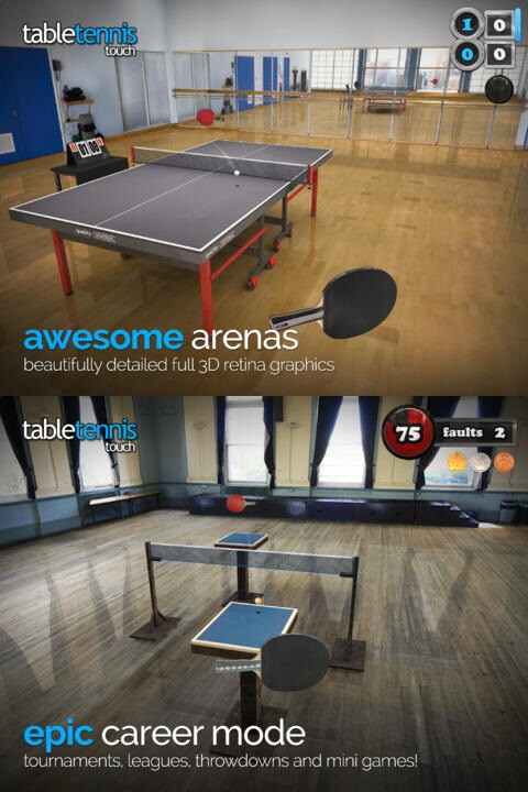 #18: Table Tennis Touch