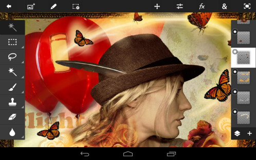 Photoshop Touch for phone (Android & iOS)