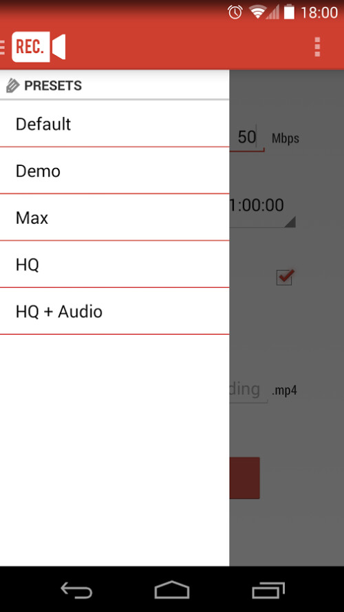 Here's how to capture screen video on Android (using method 1, or Rec.)