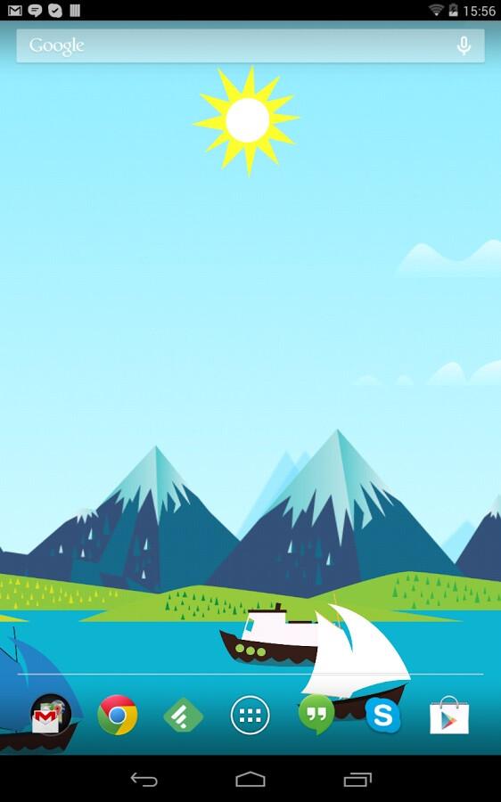 Mountains Now Free Wallpaper