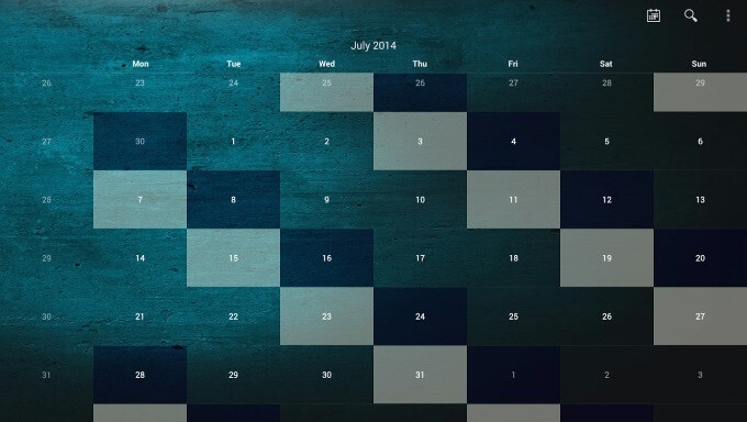 Shift Work Schedule lets you plan your work life by shifting patterns on a sleek calendar