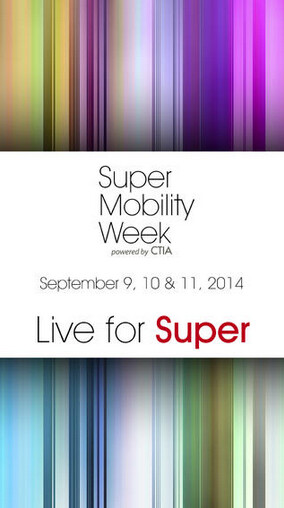 Screenshots from the Super Mobility Week app - Microsoft's Elop to handle keynote chores at Super Mobility Week event in Vegas