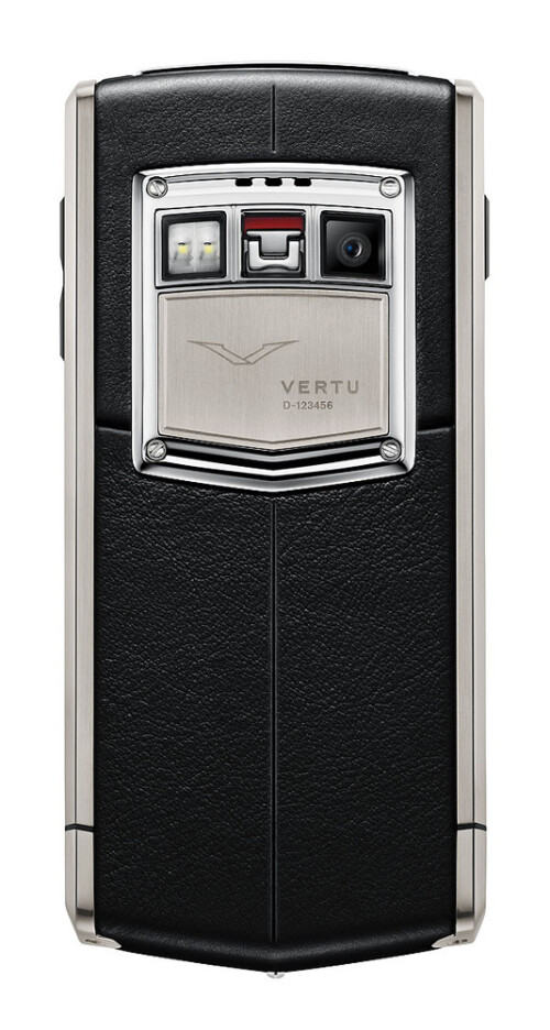 Vertu Ti, a $11,000 phone with sapphire glass