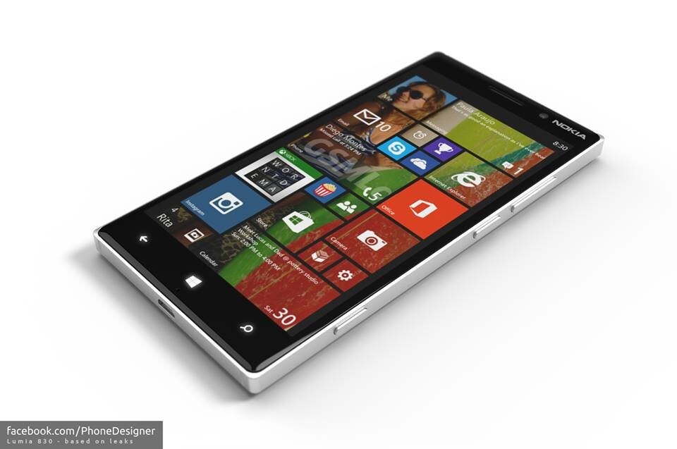 nokia lumia 830 concept shows what the successor to the. Black Bedroom Furniture Sets. Home Design Ideas