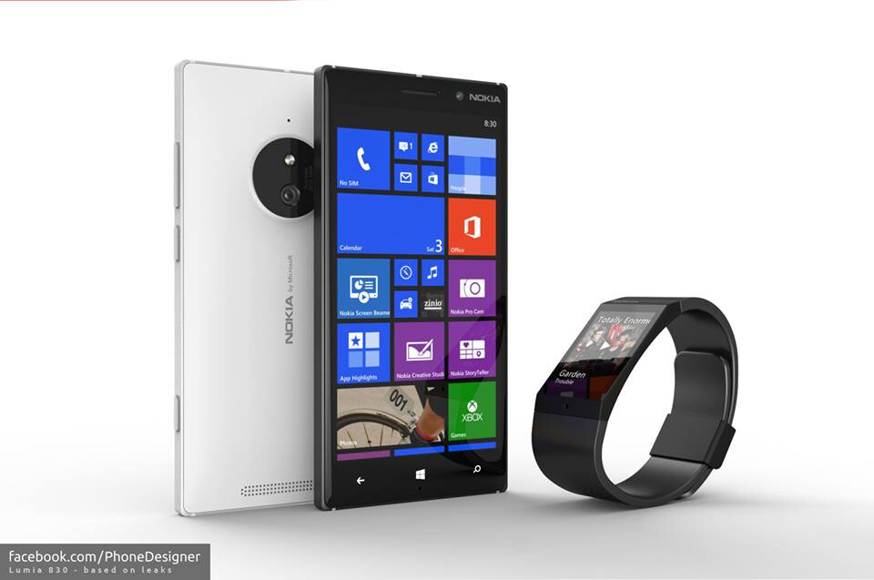 Nokia Lumia 830 concept shows what the successor to the ...