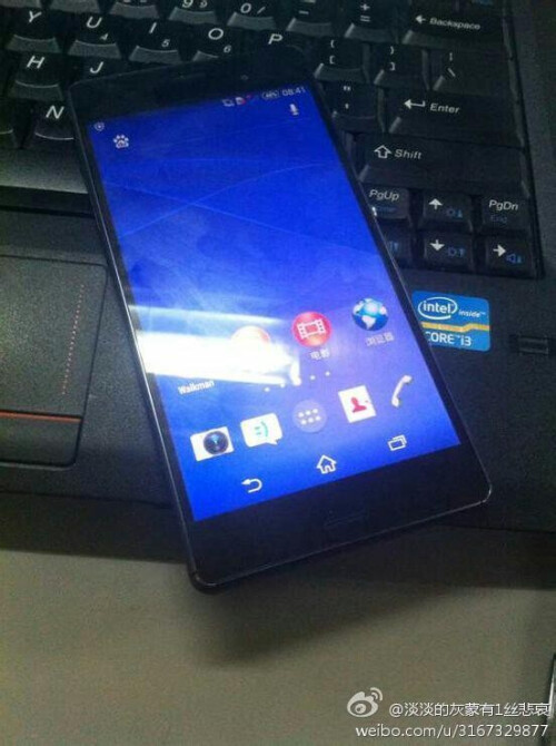 Sony Xperia Z3 allegedly photographed again
