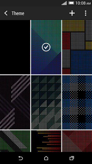 HTC Dot View case for the HTC One (M8) - HTC updates Dot View app to add new features and themes