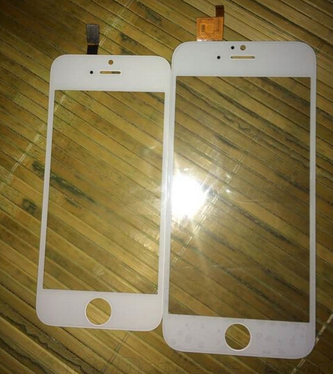 Comparing the size with a 4 inch iPhone panel