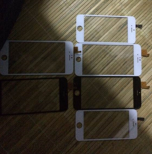 Front panel of the Apple iPhone 6 leaks