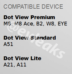 HTC W8, HTC Eye and others mentioned in Dot View compatibility document