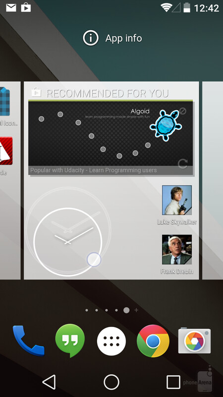 Placing widgets