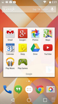 Android folders