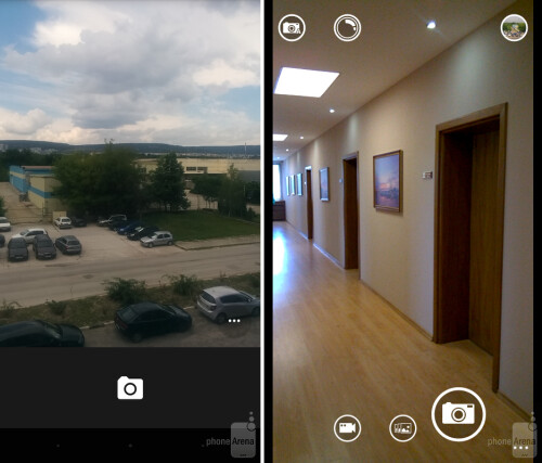 Google Camera vs the stock WP8 camera app