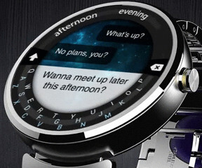Virtual keyboard on a smartwatch? Minuum makes that possible