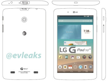 LG G Pad 7.0 LTE to be released by AT&T