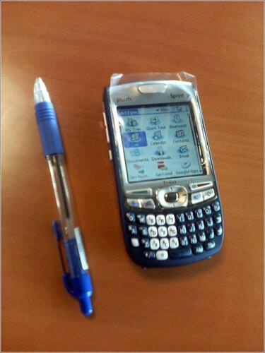 Palm Treo 755p - Sprint PCS gets Treo 755p to upgrade the 700p