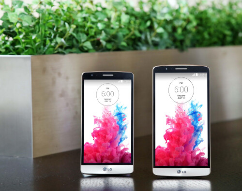 LG G3 Beat vs. the larger LG G3