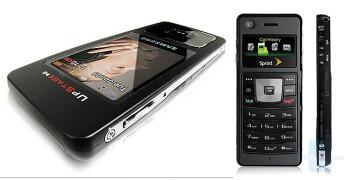 Sprint PCS Samsung UpStage