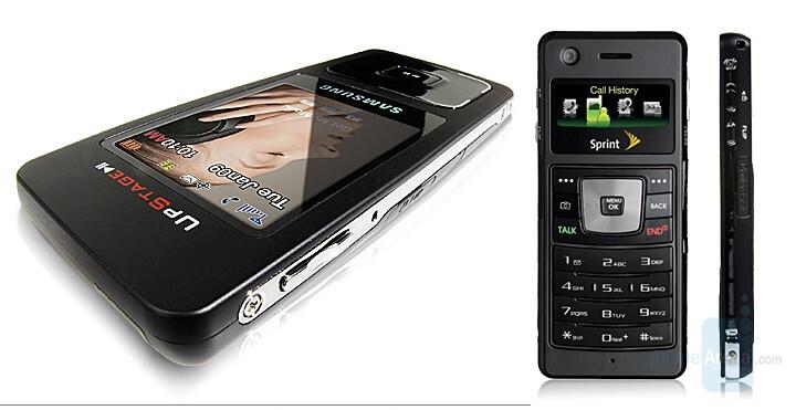 Sprint PCS Samsung UpStage - Sprint launches Samsung UpStage