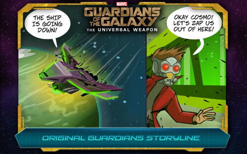 Guardians of the Galaxy The Universal Weapon screenshots
