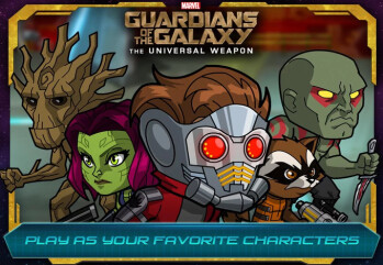 Guardians of the Galaxy movie tie-in game is now live on Google Play and Apple's App Store
