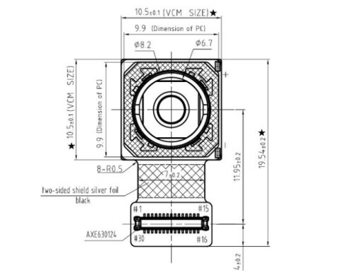 13MP Sony sensor rumored for the Apple iPhone 6's rear camera