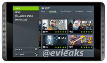 Unannounced Nvidia Shield Tablet shows up
