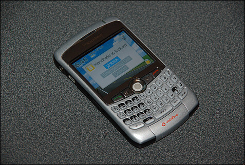 BlackBerry 8300 for Vodafone - BlackBerry Pearl for Verizon/Sprint and 83xx for T-Mobile on May 7