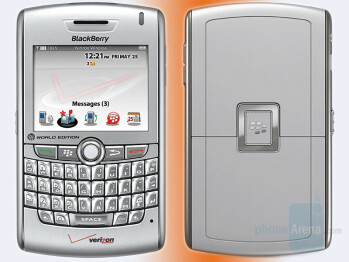 BlackBerry 8830 Cyclone CDMA/GSM hybrid