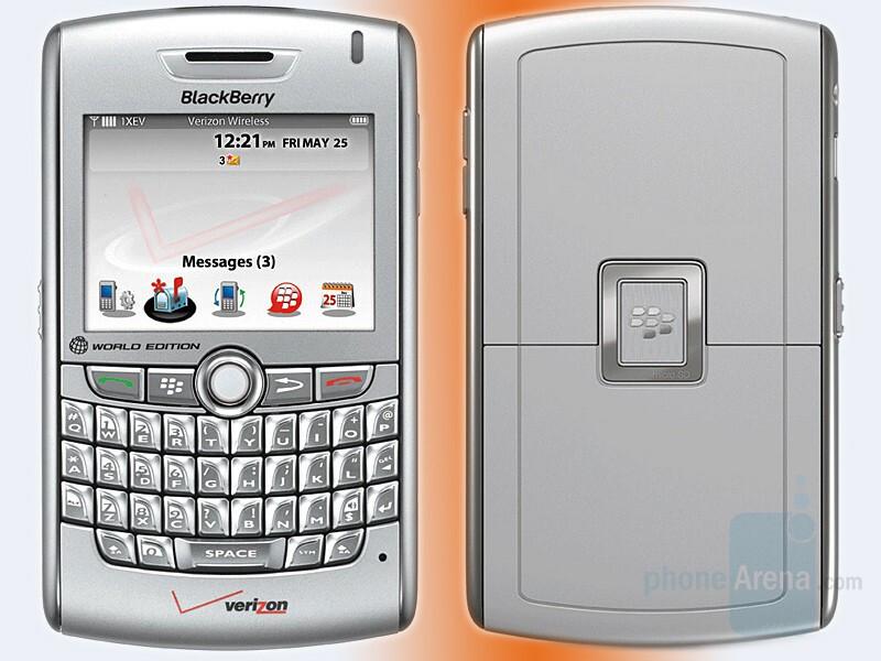 BlackBerry 8830 Cyclone CDMA/GSM hybrid - Verizon Wireless gets RIM BlackBerry 8830 Cyclone CDMA/GSM hybrid world-phone
