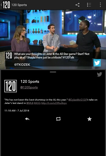 New 120 Sports app for Android offers hours of free game streaming daily