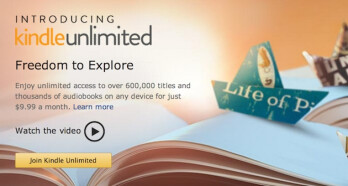 Amazon unveils Kindle Unlimited, the 'Spotify for books': unlimited reading for $9.99 a month